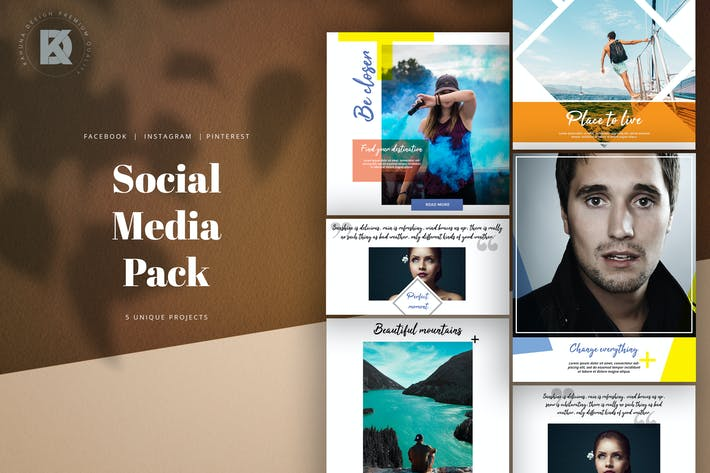 Thumbnail for Social Media Universal Pack