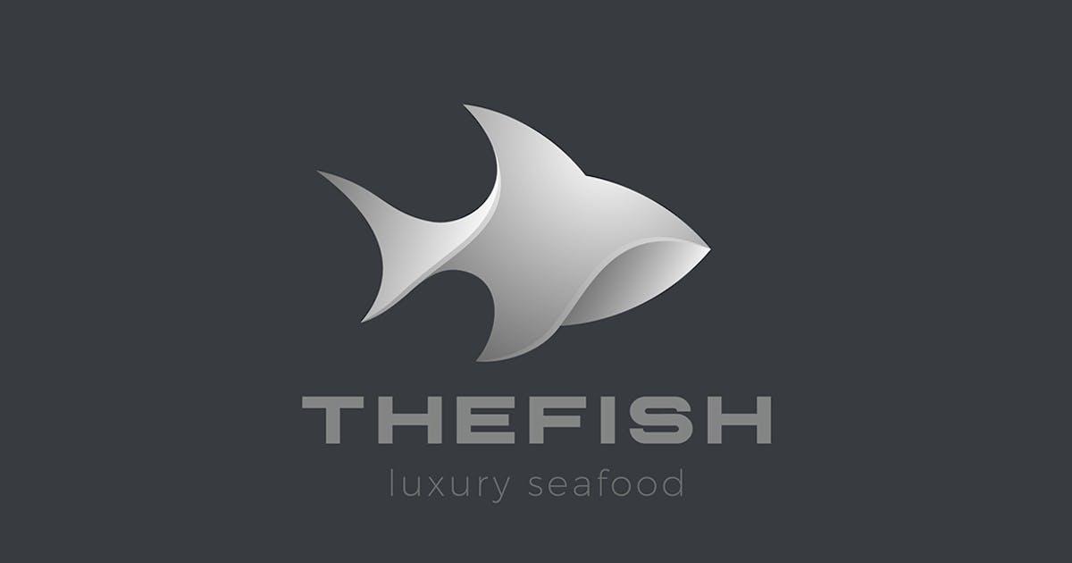 Download Logo Fish Abstract Shark Tuna 3D Design style by Sentavio
