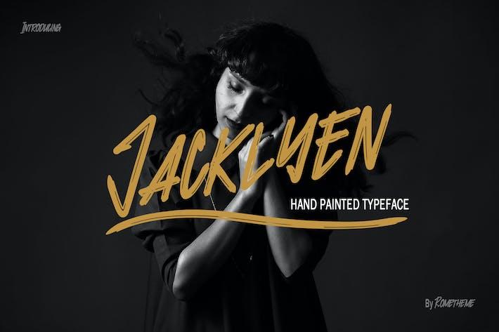 Thumbnail for Jacklyen Font