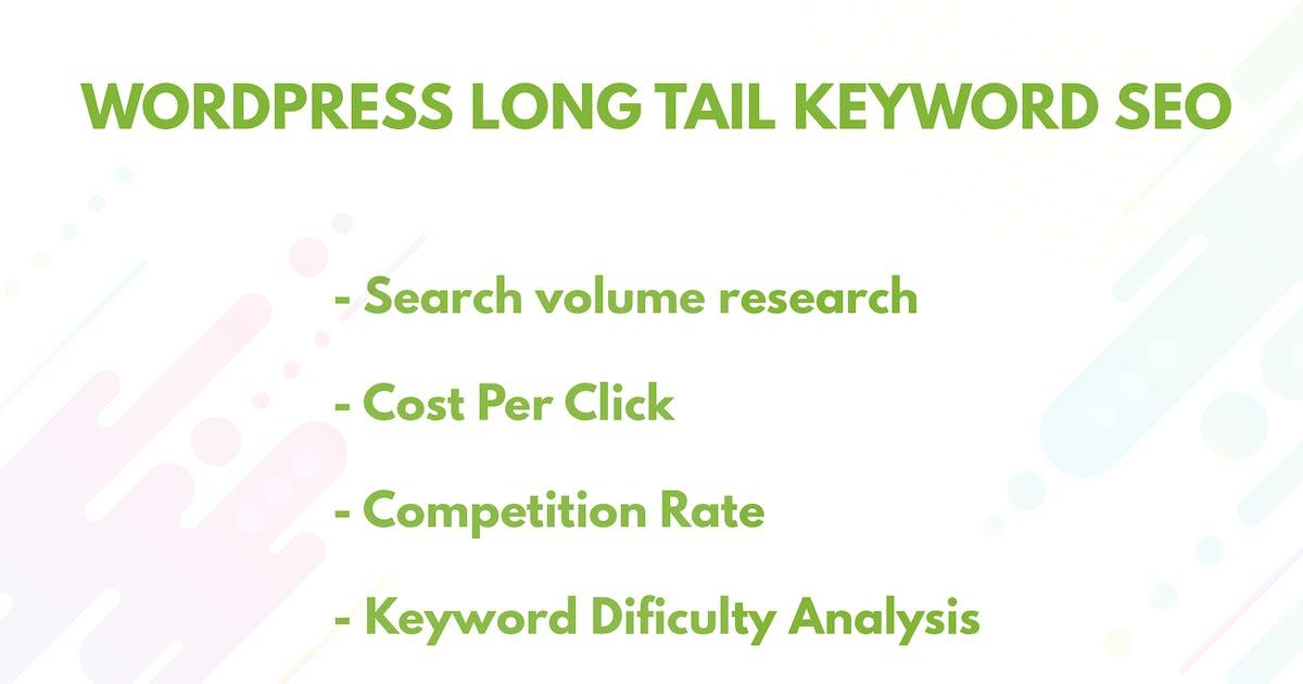 Download WordPress Longtail Keyword SEO - SERP Checker by catsplugins