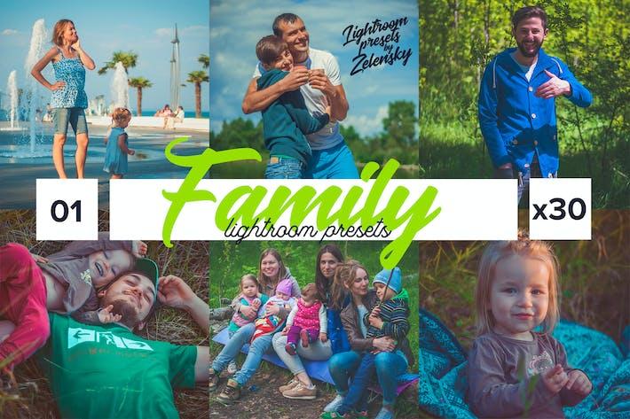 Thumbnail for Presets Family Lightroom by Zelensky