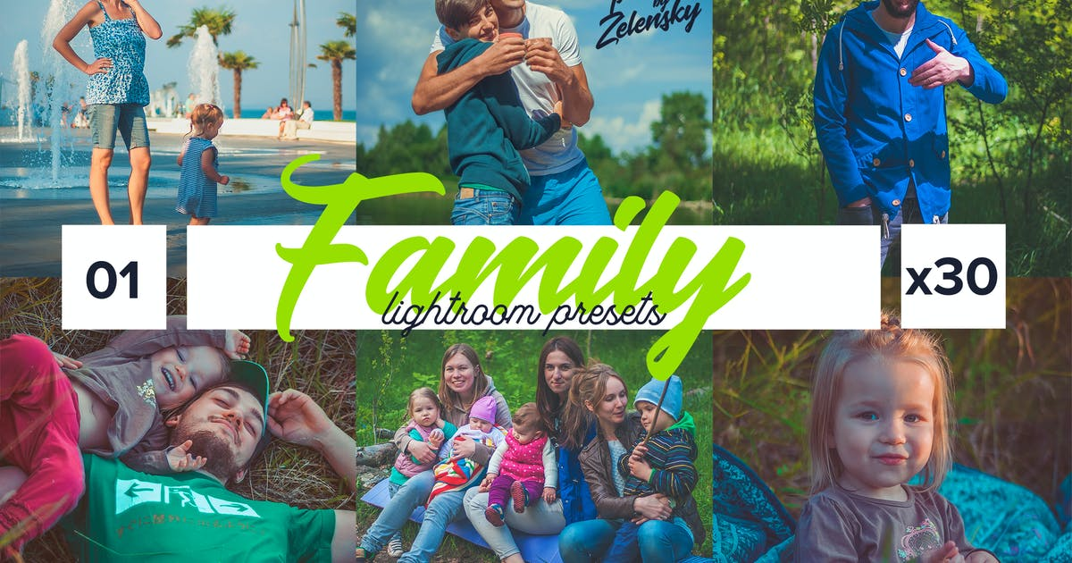 Family Lightroom Presets by Zelensky by ZelenskyRuslan