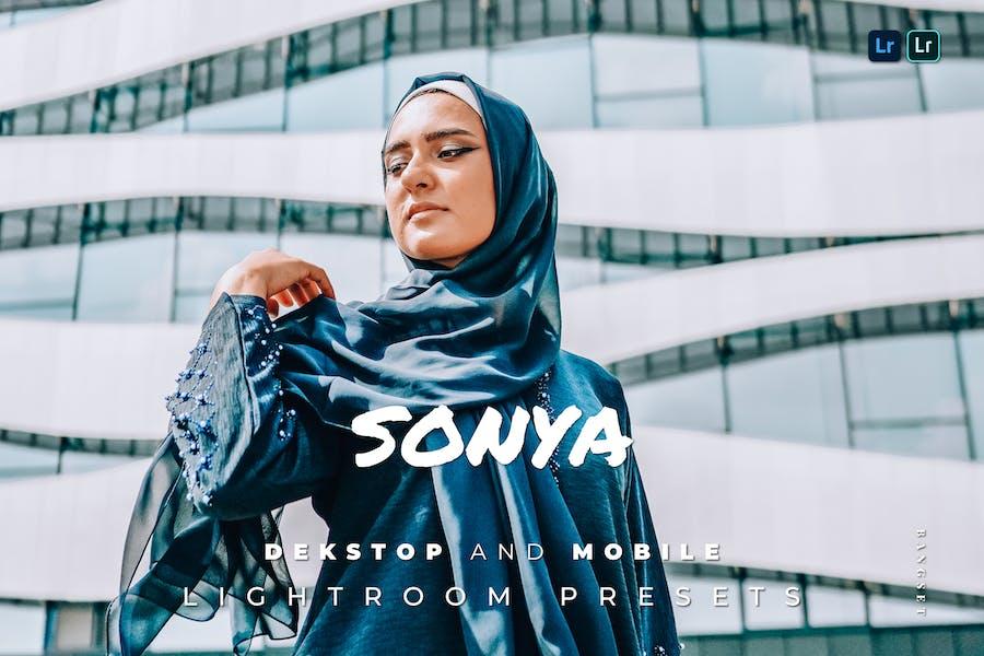 Sonya Desktop and Mobile Lightroom Preset
