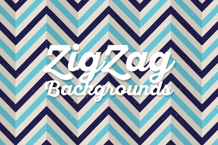 Thumbnail for Flat ZigZag Backgrounds