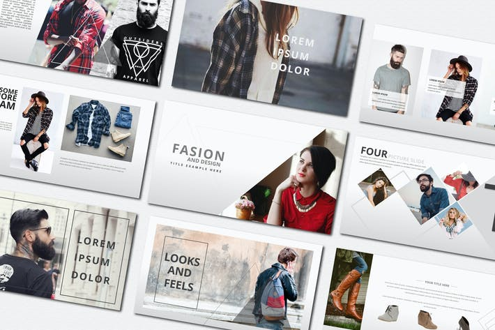 Thumbnail for Fasion | Keynote Templates