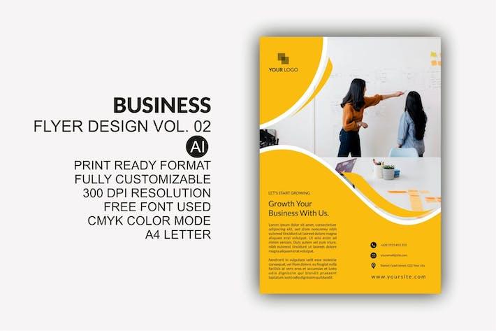 Thumbnail for Business Flyer Design Kit Vol.02