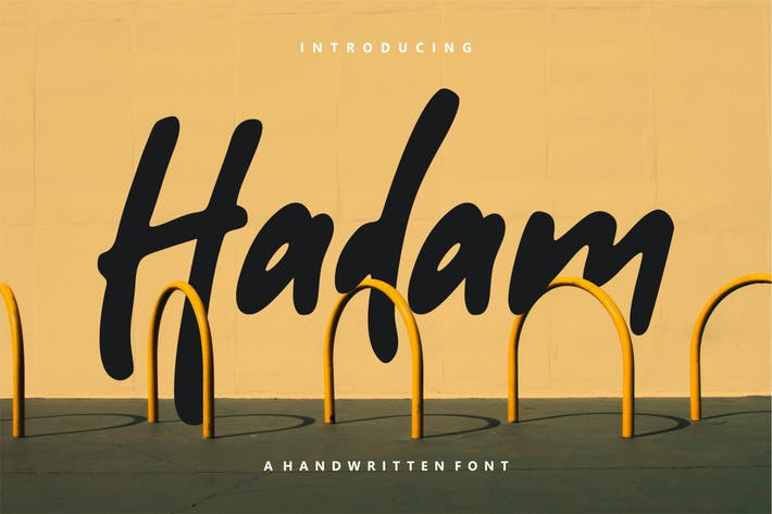 Thumbnail for Hadam - Handwritten Font