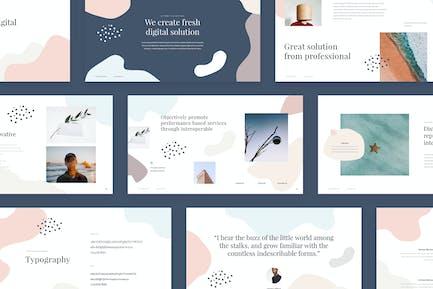 Shape - Clean Powerpoint Templae