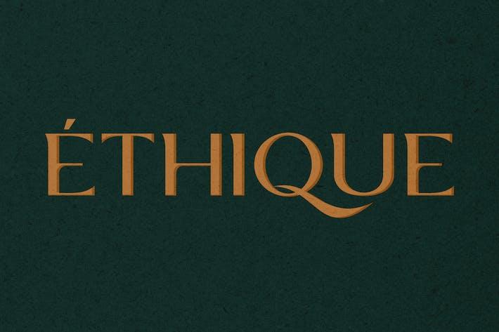 Thumbnail for ETHIQUE