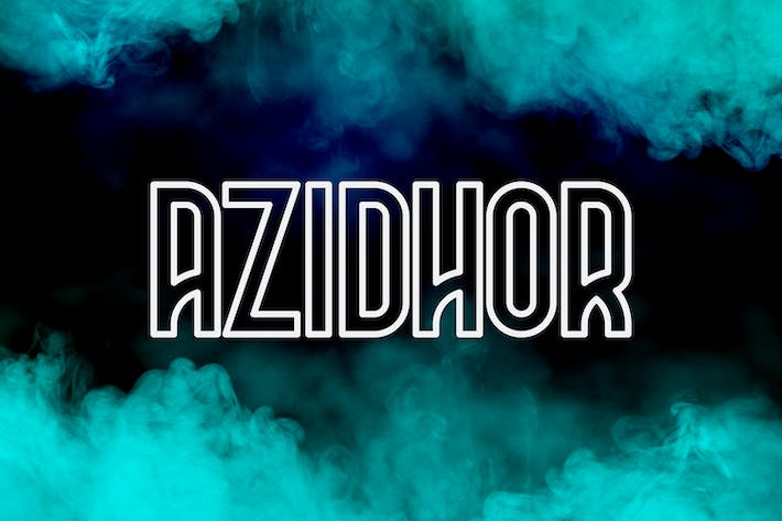 Thumbnail for Azidhor typeface