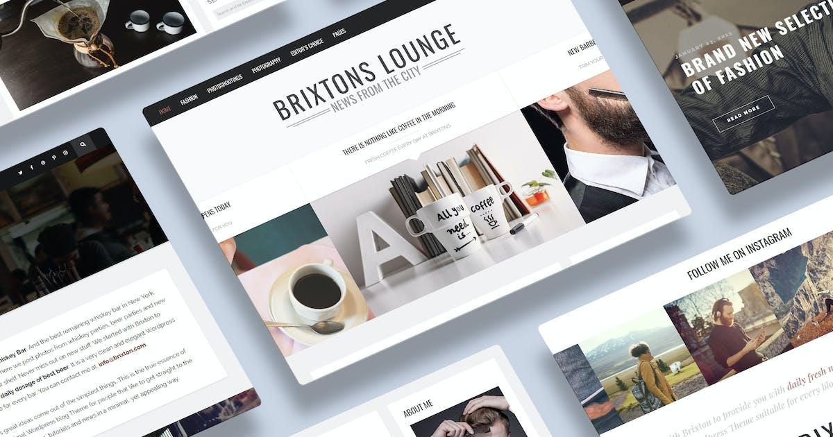 Download Brixton - A Responsive WordPress Blog Theme by gljivec