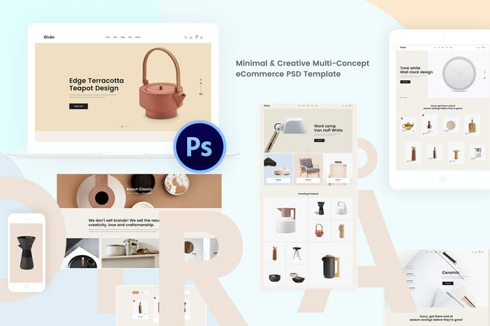 Thumbnail for Oiran - Minimal & Creative Multi-Concept eCommerce