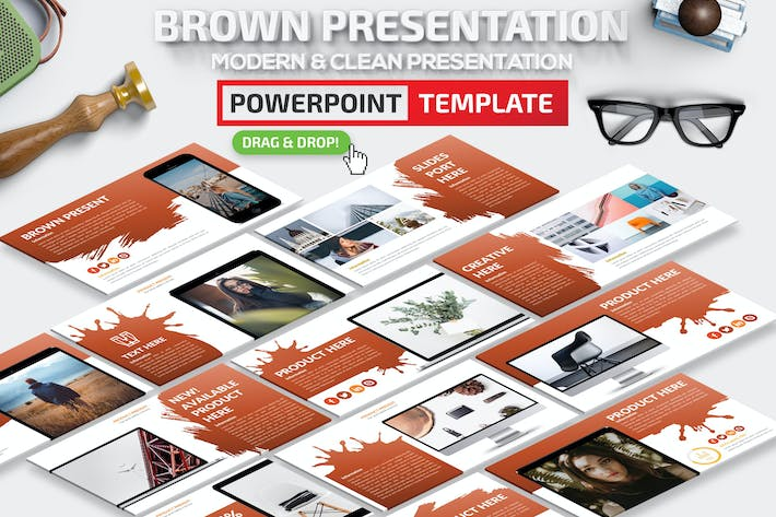 Thumbnail for Brown Powerpoint Presentation