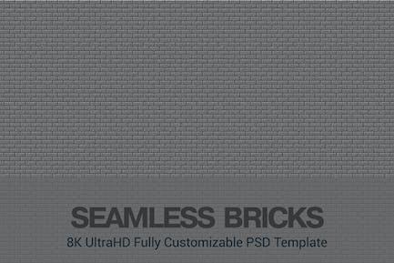 8K UltraHD Benutzerdefinierte nahtlose Steine Hintergrund