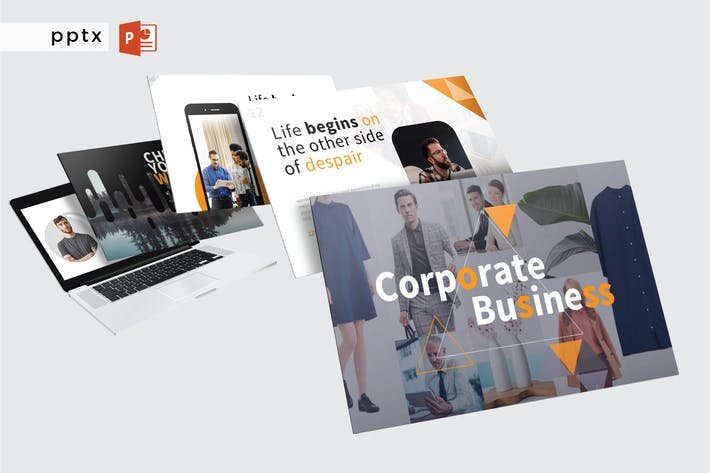 Thumbnail for CORPORATE BUSINESS - Powerpoint  V380