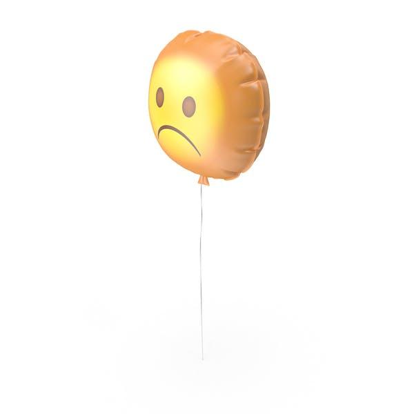 Very Sad Emoji Balloon