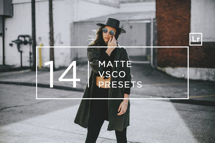 Thumbnail for 14 Matte + Пресеты Lightroom VSCO