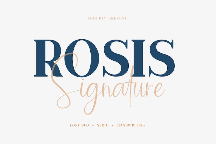 Thumbnail for Rosis & Salón - Font Duo