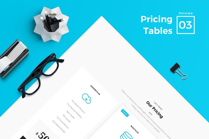 Thumbnail for Pricing Tables for Web Vol 03
