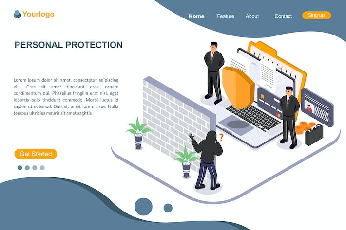 PERSONAL PROTECTION - Landing Page
