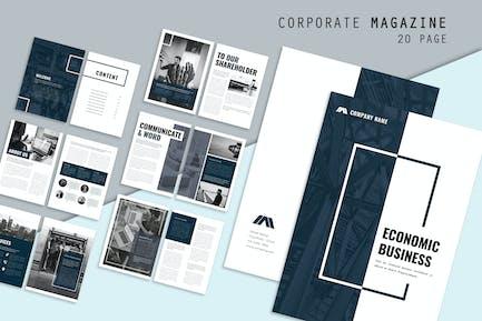 Economic Corporate Brochure