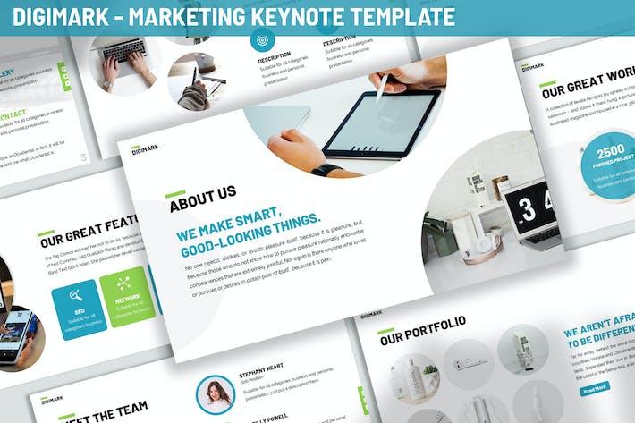 Thumbnail for Digimark - Marketing Keynote Template