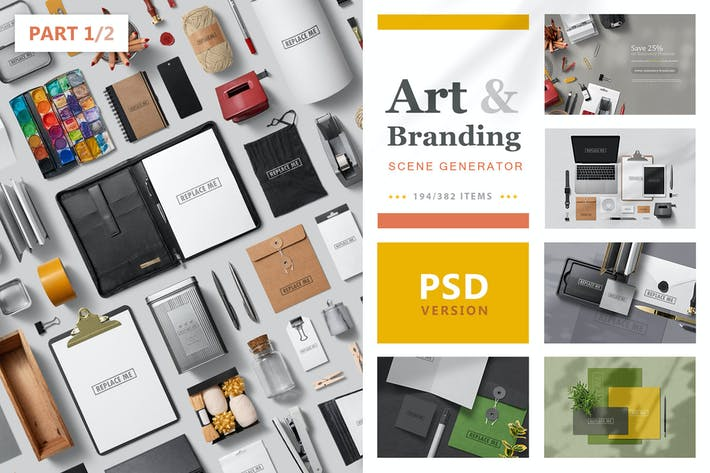 Thumbnail for Art & Branding Scene Generator - Part 1