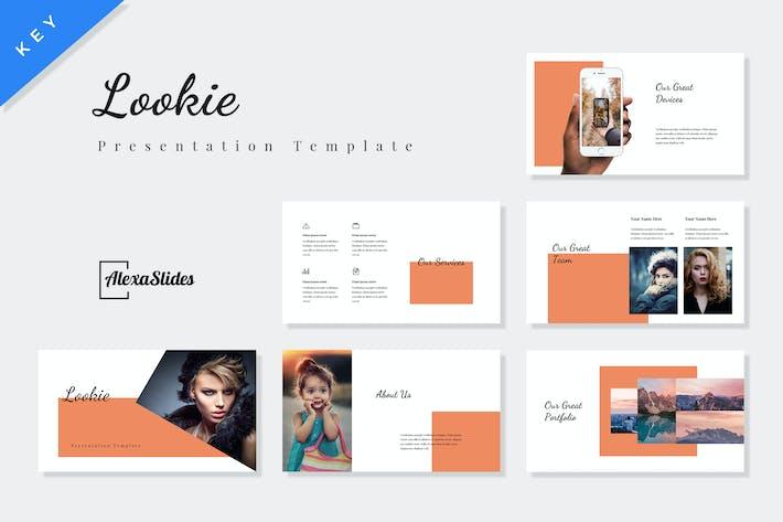 Thumbnail for Lookie - Fashion Keynote Presentation Template