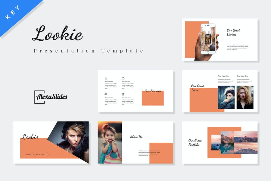 Lookie - Fashion Keynote Presentation Template
