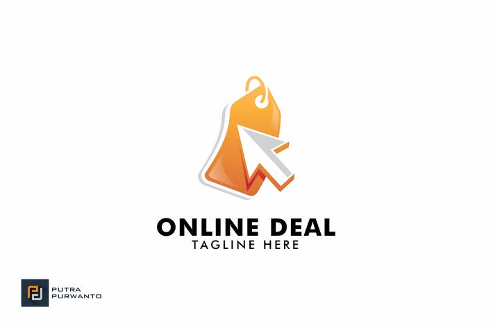 Cover Image For Online Deal - Logo Template