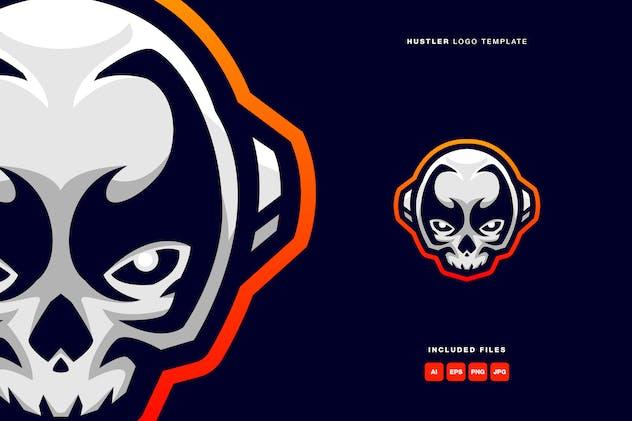 Hustler Logo Template