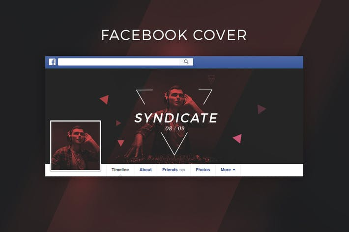 Cover Image For Dj / Music Facebook Cover