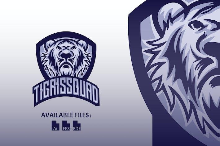 Thumbnail for Tigris Squad Sport and Esport Logo