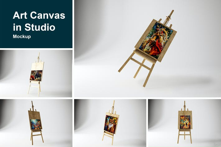 Thumbnail for Art Canvas in studio