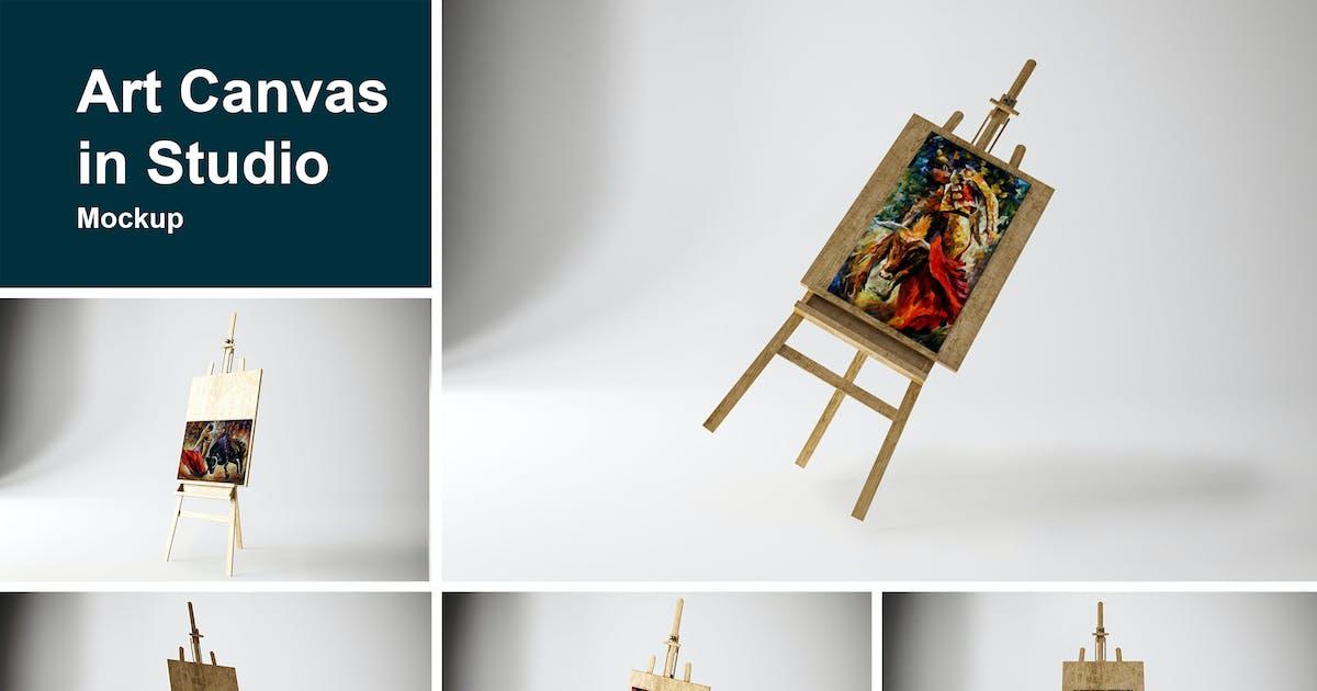 Download Art Canvas in studio by QalebStudio