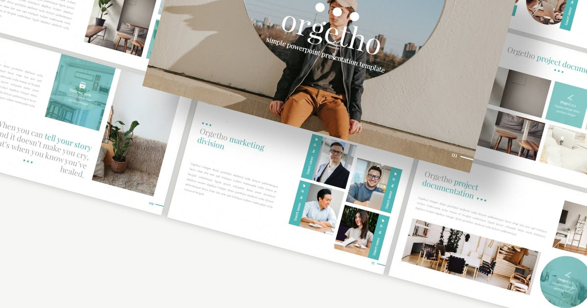 Download Orgetho - Keynote Template by Macademia
