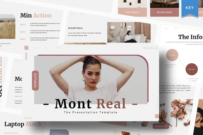 Mont Real | Keynote Template