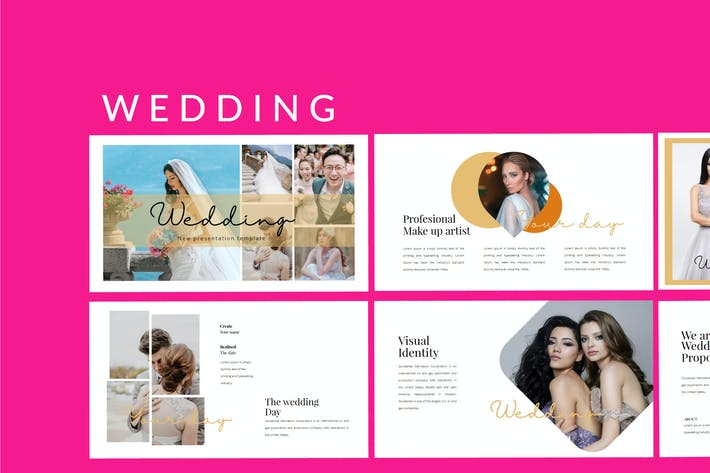 Thumbnail for Wedding Lookbook - Powerpoint Presentation