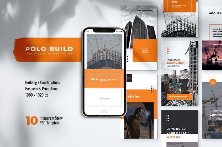 Thumbnail for POLO Construction Instagram Stories
