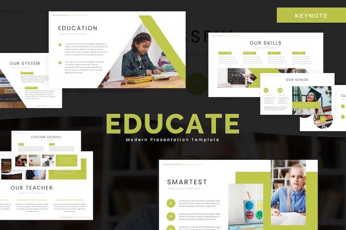 Thumbnail for Educate - Keynote Template