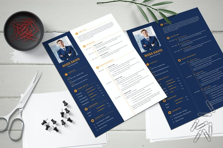Thumbnail for CV Resume Template for Business