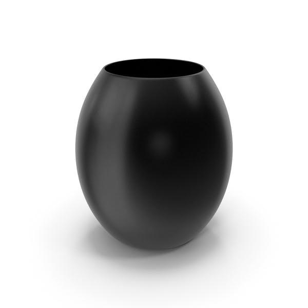 Decorative Vase Black