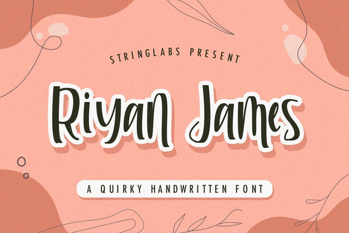 Riyan James - Police d'affichage excentrique