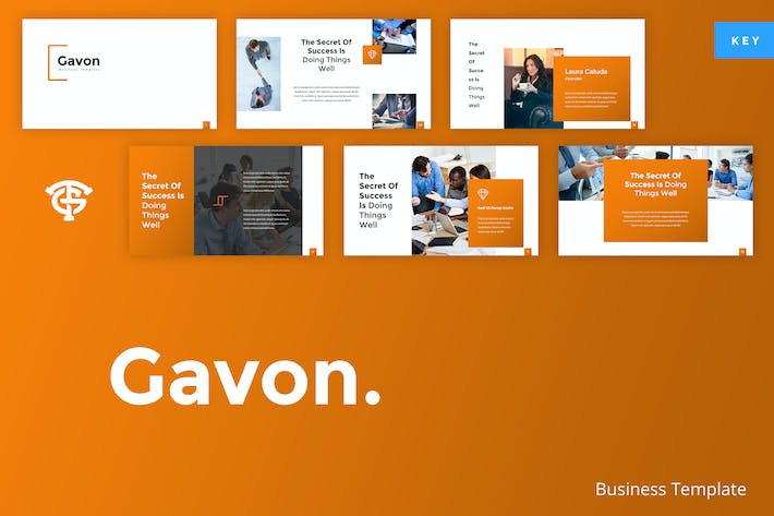 Thumbnail for Gavon Business - Keynote