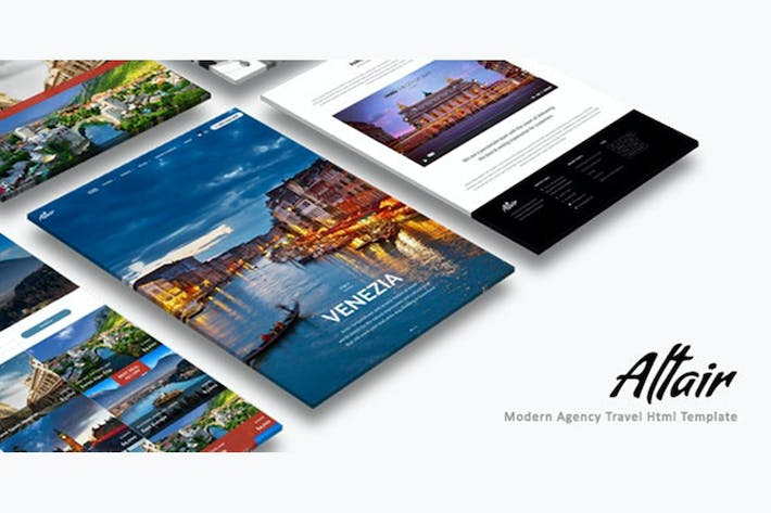 Thumbnail for Altair | Travel Agency HTML