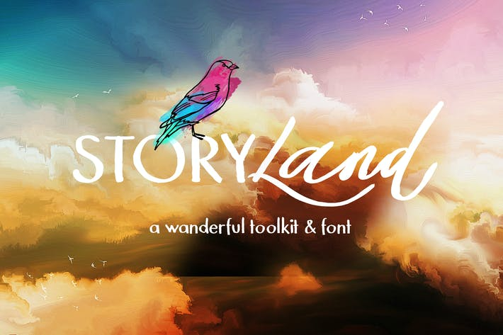 Thumbnail for Storyland Font Toolkit