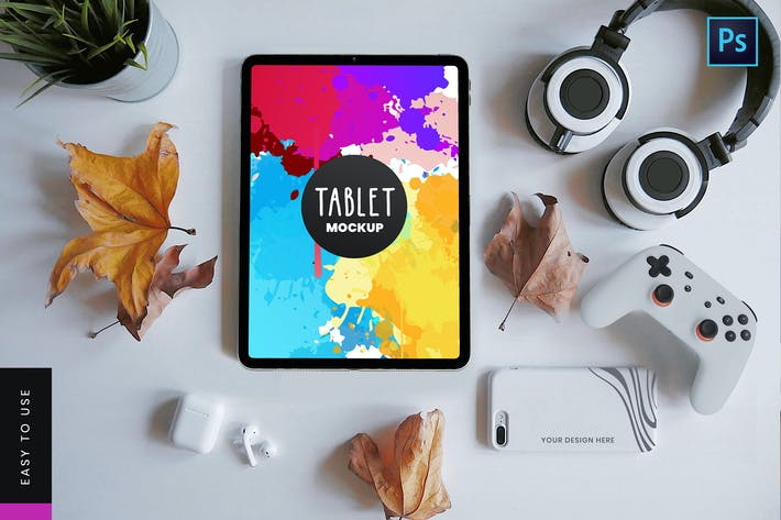 Thumbnail for Tablet Mockup