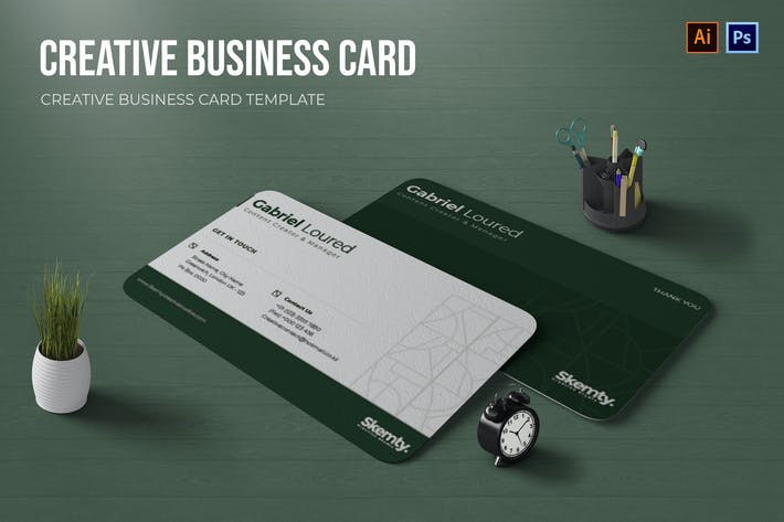 Thumbnail for Creative Content Business Card