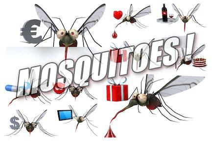 10 fun Mosquitoes !