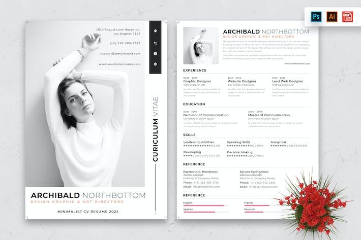 Resume CV Template-63